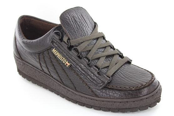 Mephisto baskets sneakers rainbow marron1125402_1