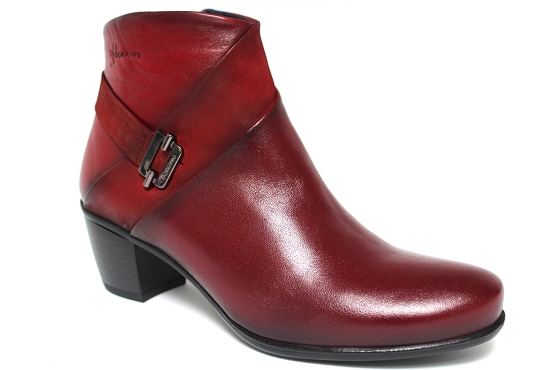 Dorking boots bottine 7261 rouge1133402_1