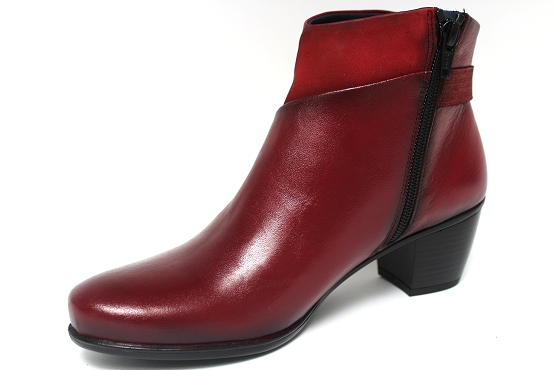 Dorking boots bottine 7261 rouge1133402_2