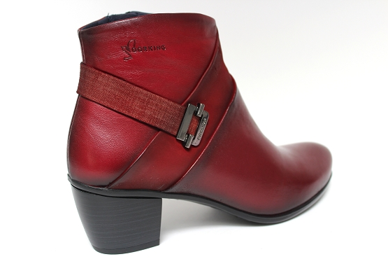 Dorking boots bottine 7261 rouge1133402_3
