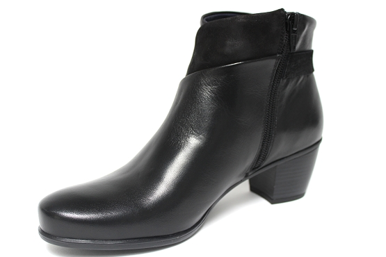 Dorking boots bottine 7261 noir1133403_2