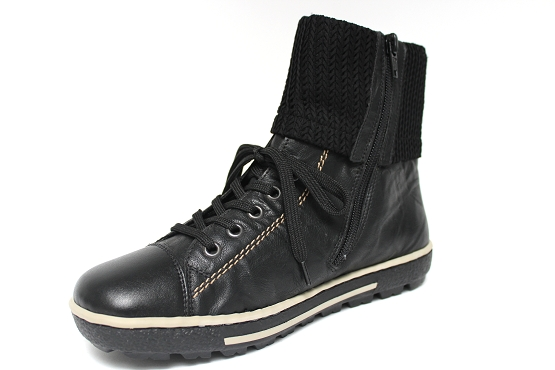 Rieker baskets sneakers z8760.00 noir1155201_2