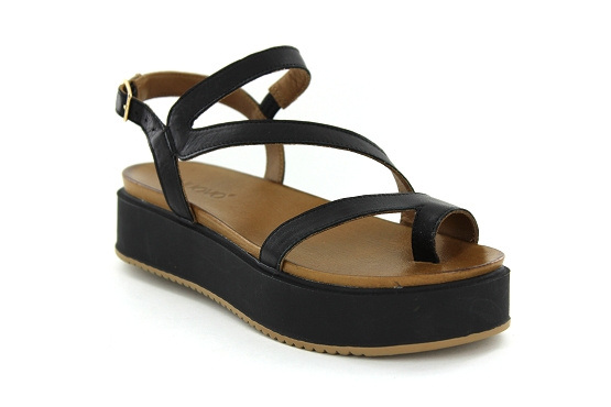 Inuovo sandales nu pieds 8716 noir1191301_1