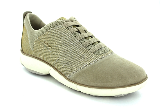 Geox baskets sneakers d641eg taupe1203901_1