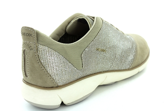 Geox baskets sneakers d641eg taupe1203901_3
