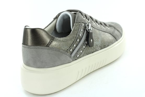 Geox baskets sneakers d828df taupe1204001_3