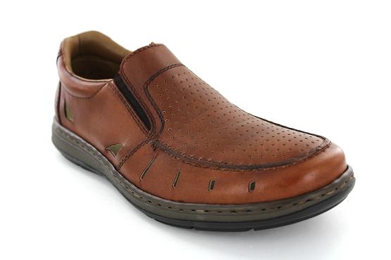 Rieker 17355.24 Camel - Chaussures Mocassins