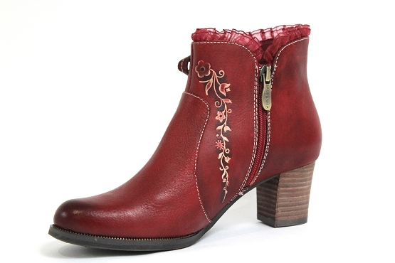 Laura vita boots bottine amelie rouge1233601_2