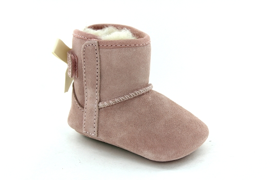Ugg chaussons jesse bow rose1236601_1
