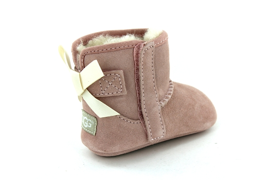 Ugg chaussons jesse bow rose1236601_3