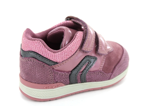 Geox baskets sneakers b840la rose1252901_3