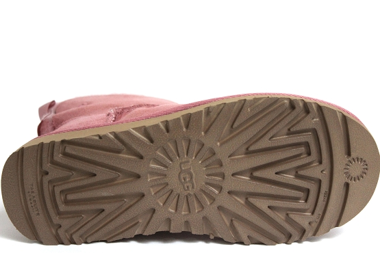 Ugg boots bottine mini bailey bow rose1253101_4