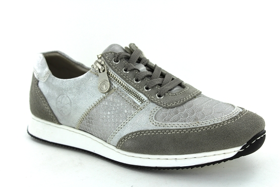 Rieker baskets sneakers 56030.40 taupe1261301_1