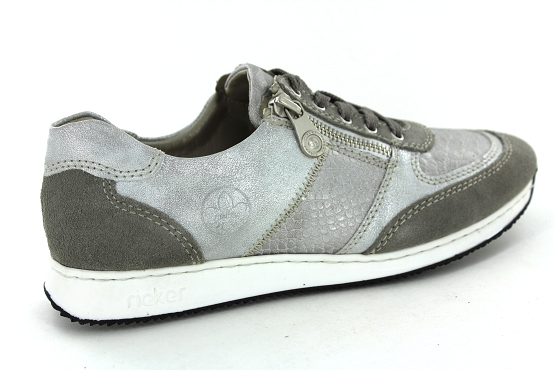 Rieker baskets sneakers 56030.40 taupe1261301_3