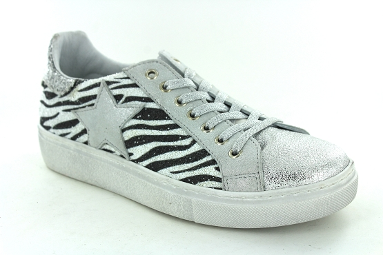 Reqins baskets sneakers sun stella argent1267801_1