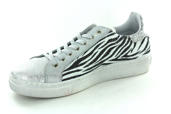 Reqins baskets sneakers sun stella argent1267801_2