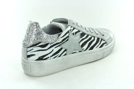 Reqins baskets sneakers sun stella argent1267801_3