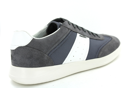 Geox baskets sneakers u926fa gris1270902_3