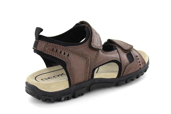 Geox nu pieds sandales u4224a marron homme   Sergio Conti