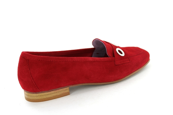 Anyo mocassins evisa rouge1278101_3