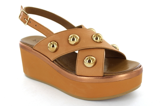 Inuovo sandales nu pieds 124021 camel1282301_1