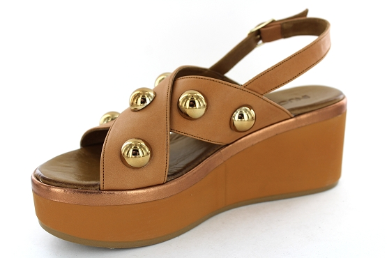 Inuovo sandales nu pieds 124021 camel1282301_2
