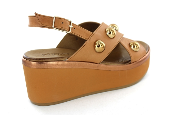 Inuovo sandales nu pieds 124021 camel1282301_3