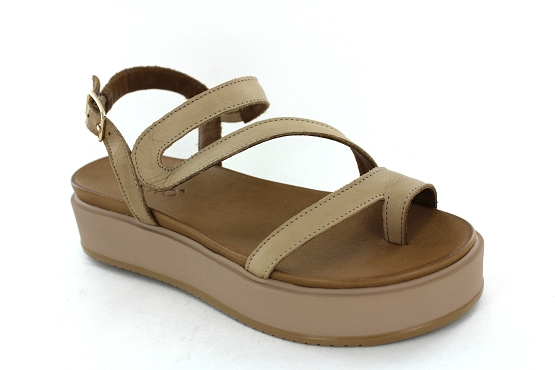 Inuovo sandales nu pieds 112018 taupe1282401_1