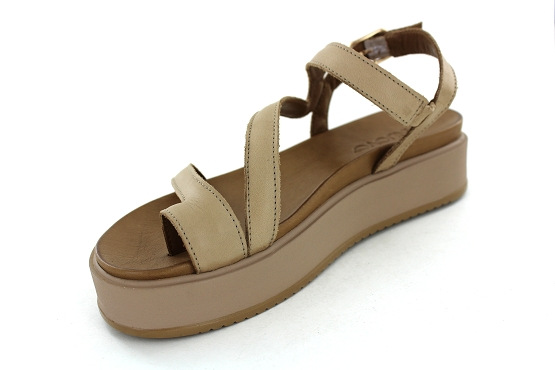 Inuovo sandales nu pieds 112018 taupe1282401_2