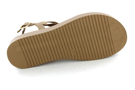 Inuovo sandales nu pieds 112018 taupe1282401_4