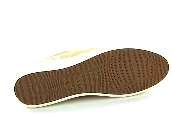 Geox baskets sneakers d0268a beige1323101_4