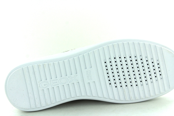 Geox baskets sneakers d02fed blanc1323601_4