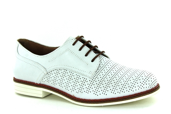 Tamaris derbies lacets 23200 blanc1325801_1