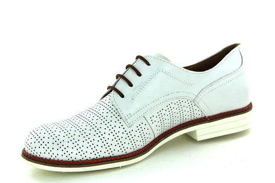 Tamaris derbies lacets 23200 blanc1325801_2