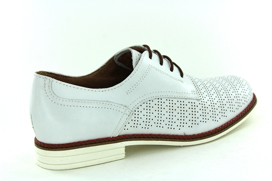 Tamaris derbies lacets 23200 blanc1325801_3