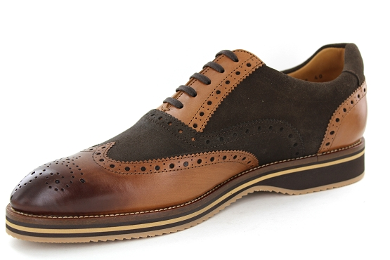 Alexander bennet derbies lacets 1662 marron1339501_2