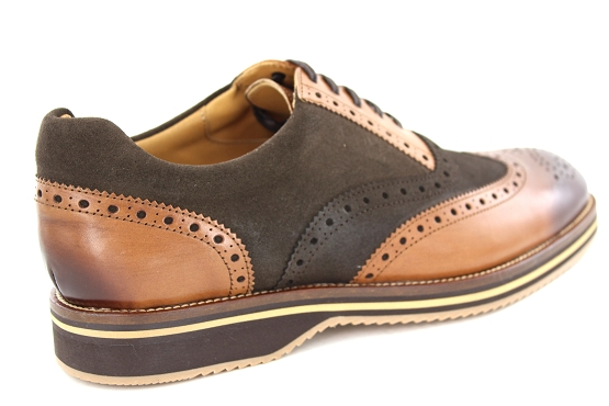 Alexander bennet derbies lacets 1662 marron1339501_3