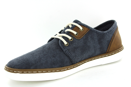 Rieker derbies lacets b4932.14 marine1353101_2