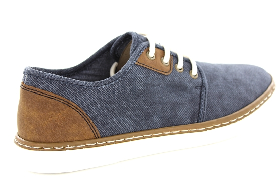 Rieker derbies lacets b4932.14 marine1353101_3