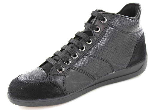 Geox baskets sneakers d6468c 04122 noir5421701_2