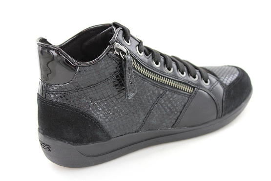 Geox baskets sneakers d6468c 04122 noir5421701_3