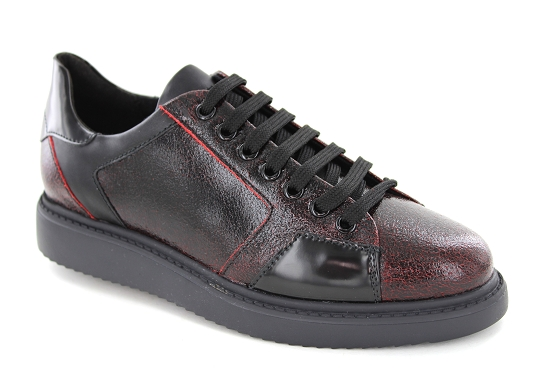 Geox baskets sneakers d844be bordeaux5422101_1