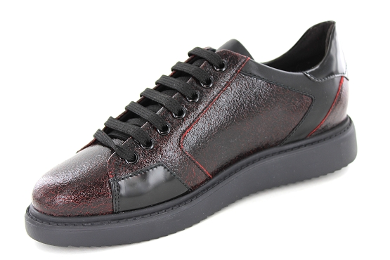 Geox baskets sneakers d844be bordeaux5422101_2