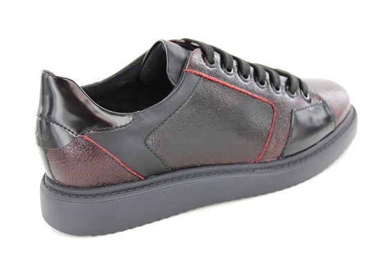 Geox baskets sneakers d844be bordeaux5422101_3