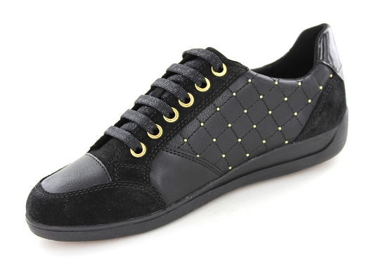 Geox baskets sneakers d8468b noir5422301_2