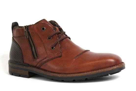 Rieker bottines boots b1344.25 marron5432401_1