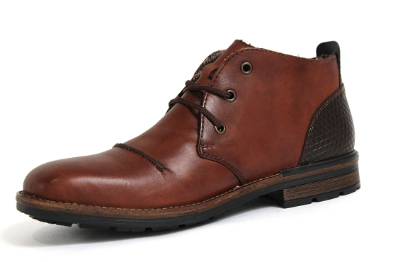 Rieker bottines boots b1344.25 marron5432401_2