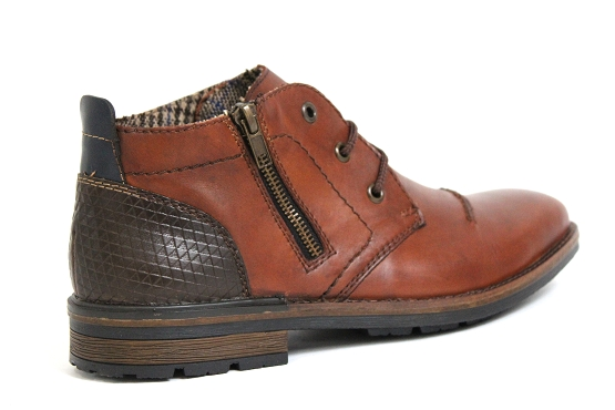 Rieker bottines boots b1344.25 marron5432401_3