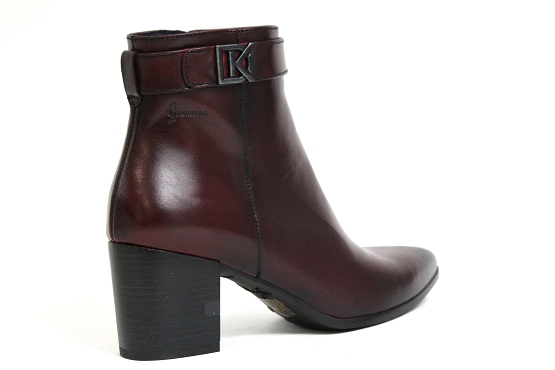 Dorking boots bottine d7698.si rouge5441101_3