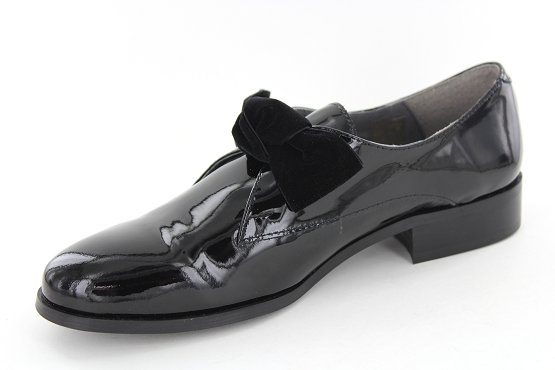 Anyo derbies lacets ville noir5442101_2